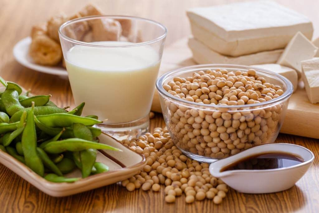 Soy is a food that kills testosterone production