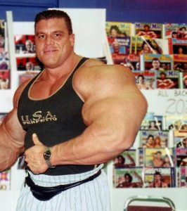 With his height and size, Kovacs is one of the biggest bodybuilders around