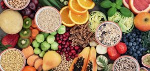 High Fiber Food can help stave off the hunger from steroids
