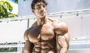 Hwang Chul Soon might be the most swole of the Korean bodybuilders
