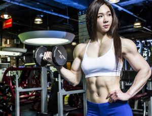Jhi Yeon-Woo is South Koreans most well-known female bodybuilder