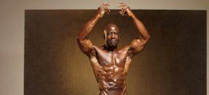 Morris defies expectations of vegan bodybuilders