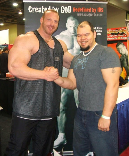 Noah Steere is a truly beastly bodybuilder who stays out of the limelight
