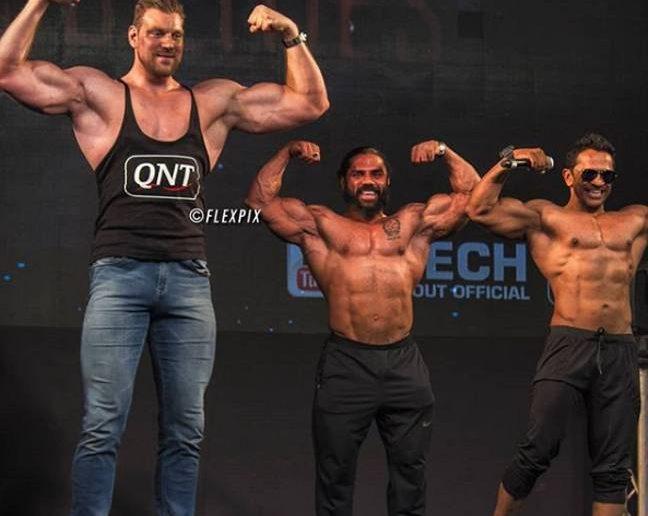 Richters is hands-down the world's tallest bodybuilder
