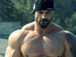 Huge traps are a good indicator of steroid use