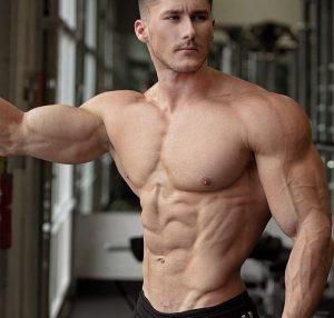 Delgado is one of the most shredded vegan bodybuilders